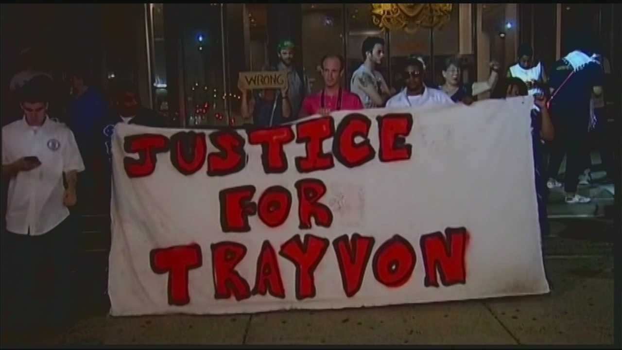 Local groups hold demonstrations in reaction to Trayvon Martin case