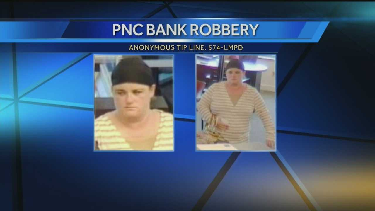 Police looking for woman they say robbed bank