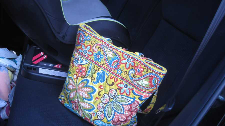 Place your purse or briefcase in the back of the car so you won't forget your child.