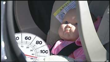 Children's bodies warm at a rate three to five times faster than an adult.