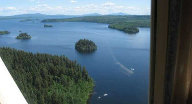 The town of Fort St. James is on the lake's shoreline with full services including lodges and motels.