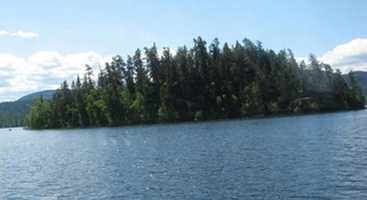 The lake contains some of the finest rainbow trout fishing available (in the 8 to 15 pound range), as well as char or lake trout, burbot and sturgeon.