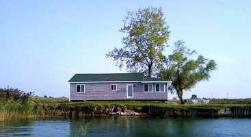 4. Fisherman's Point Island, Michigan: $175,000