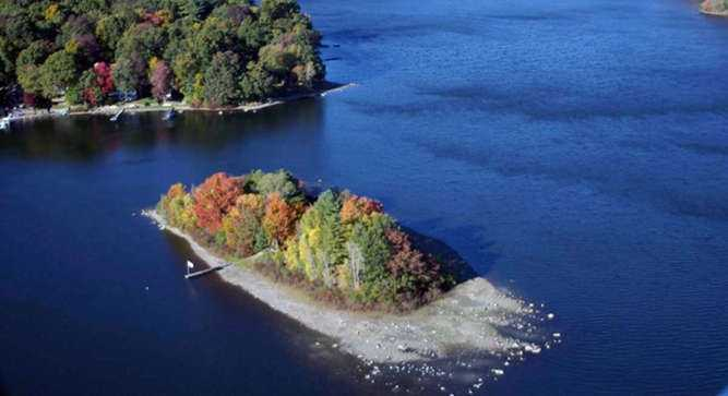 It's a once in a lifetime opportunity to own your own island just two and a half hours from New York City.