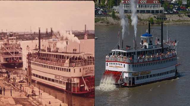 The Belle of Louisville is the oldest existing operating Mississippi style sternwheeler steamboat. The Belle of Louisville turns 100 years old in 2014.