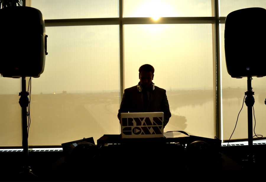 DJ Ryan Coxx was spinning all night, and keeping the party going!