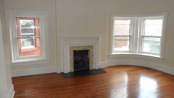 Third floor bedroom after