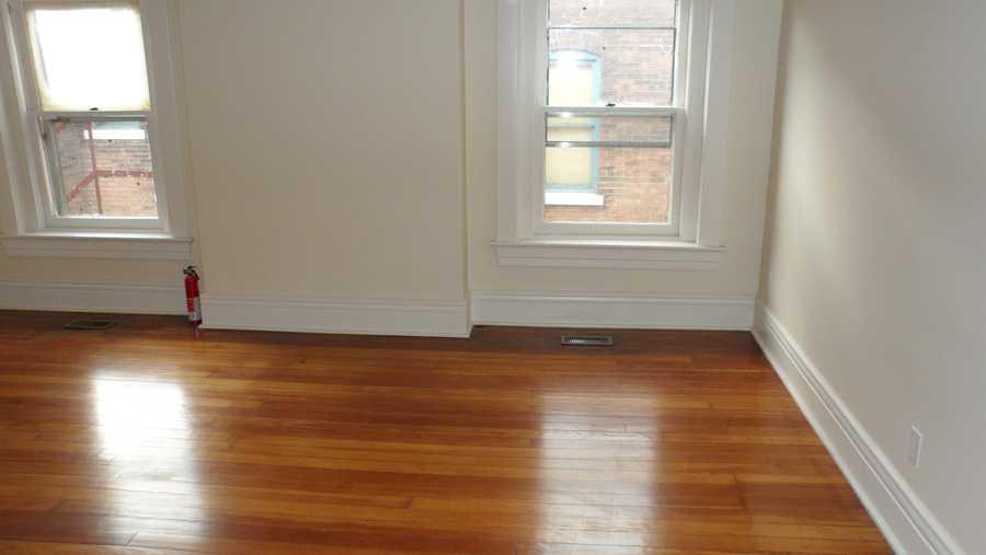 Flooring after