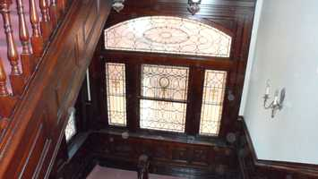 Landing stained class after