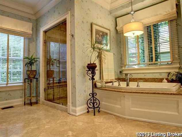 Retreat to the spa tub or shower quarters.