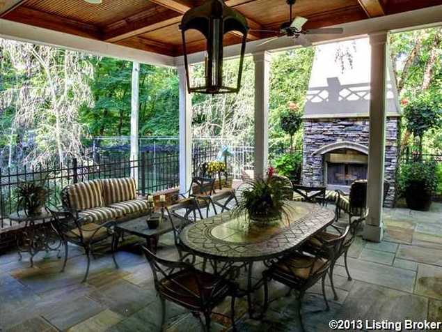 There is a spacious outdoor terrace just off the keeping room that allows for great entertaining both indoors and out.