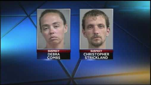 Debra Combs and Christopher Strickland: Charged with six counts of wanton endangerment. Strickland also faces a charge of burglary (READ MORE)
