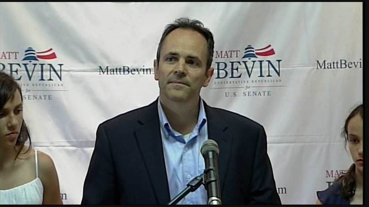Political newcomer Matt Bevin has declared the time has come for Kentucky voters to oust Senate GOP Leader Mitch McConnell.