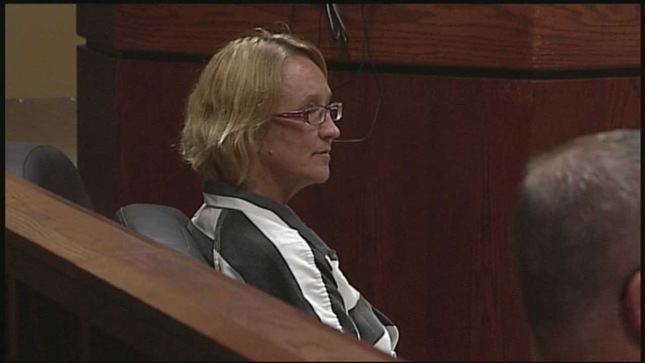 Graphic and disturbing details were revealed Wednesday in the case against Oldham County resident Gail Kelly, who is accused of killing her long-time boyfriend, Michael Evans, with a hatchet.