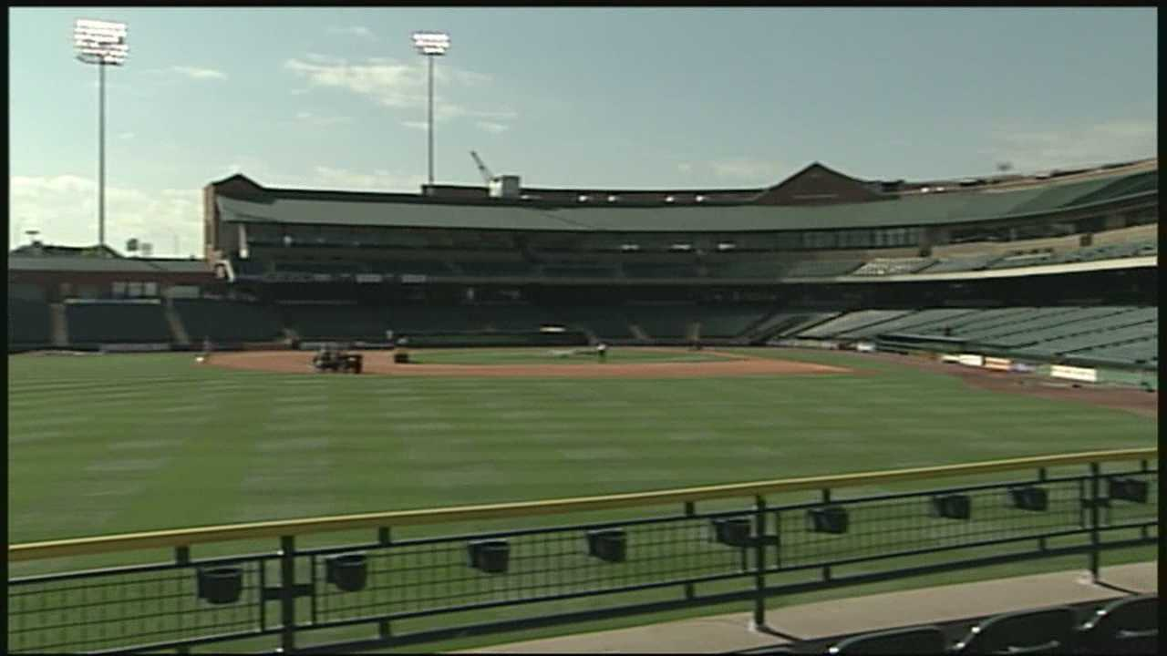 One of the most common baseball snacks will be missing from Slugger Field when the Bats play on Friday night.
