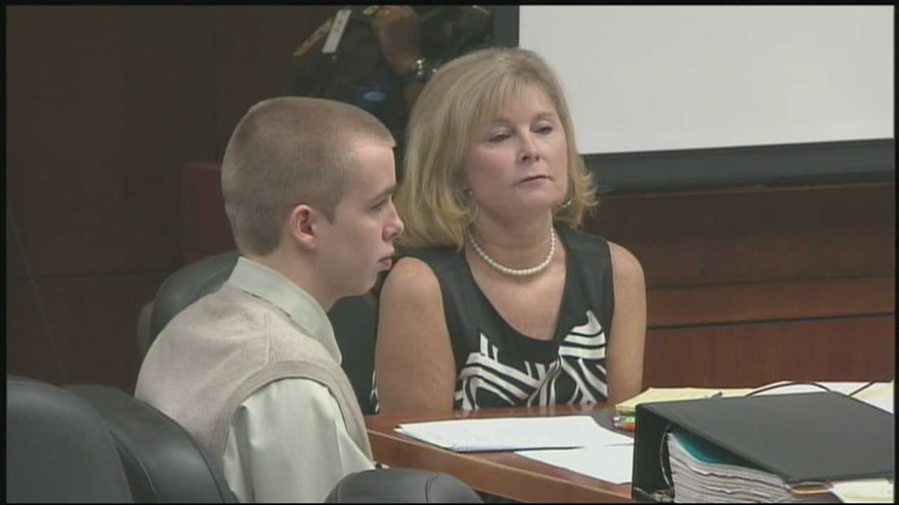 The now 17-year-old Josh Young is accused of killing his 14-year-old stepbrother Trey Zwicker in May 2011.