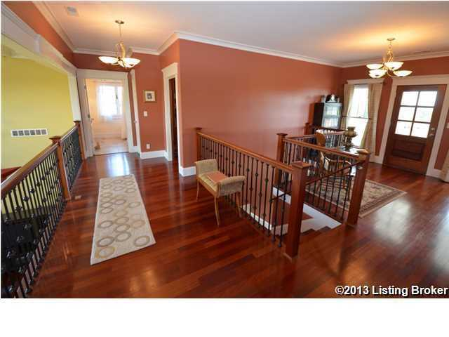 Brazilian Cherry hardwood floors throughout the home