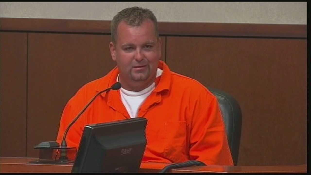 Joshua Gouker testifies in son's murder trial