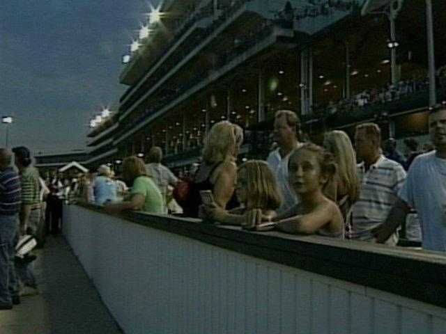 Watch the horses run... at night! Think fun ends after Derby is over? Think again! Churchill Downs opens its doors to public for an event every Saturday night for the public to enjoy.For more information, click:http://www.churchilldowns.com/news/photos/downs-after-dark