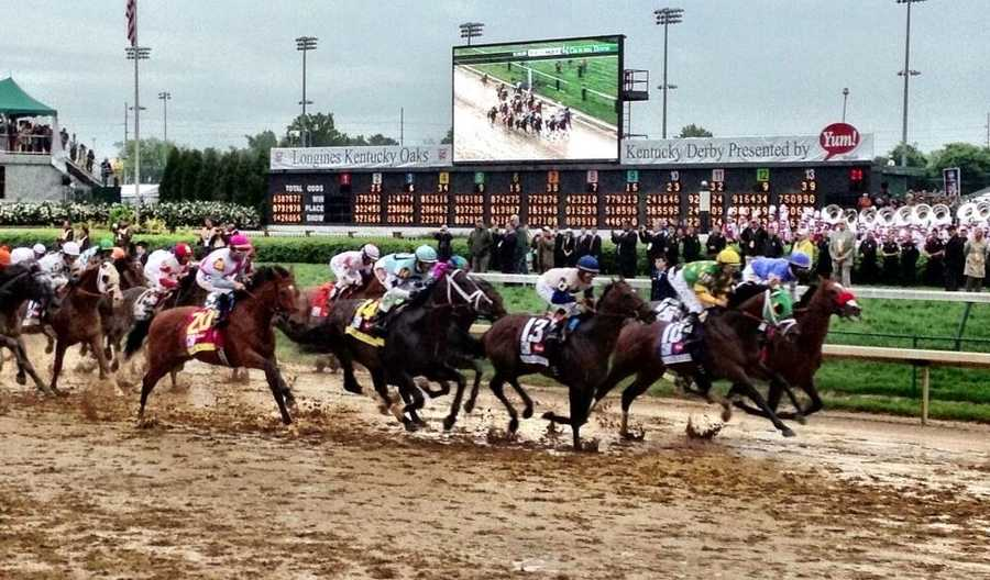 Spend the fastest two minutes in sport watching the Kentucky Derby: The first Saturday in May is the biggest day for horse racing in Louisville. More than 150,000 spectators pack Churchill Downs for the Derby each year.