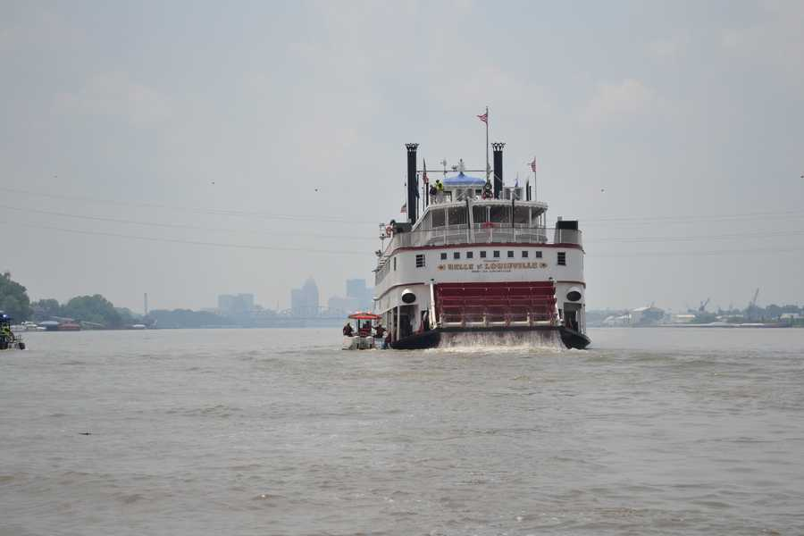 Ride the Belle of Louisville: The Belle is one of the oldest operating steamboats in the US. It offers excursion cruises, and dining on the water.Location: 401 W River RdLouisville, KY 40202