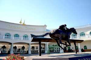 Watch the horses run at Churchill Downs: Churchill Downs is the famous location for hosting the Kentucky Derby. Spectators from all over the world come to visit this beautiful track. Location: 700 Central Ave, Louisville, KY 40214