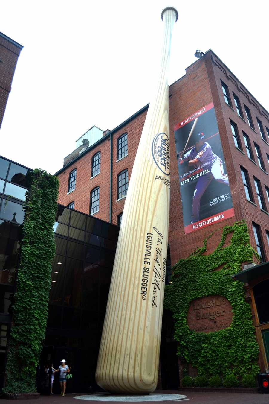 Take your picture with the giant bat: The Louisville Slugger Museum is one of the top attractions Louisville has to offer. The museum walks spectators through intricately designed, and produced bats.Location: 800 W Main StLouisville, KY 40202