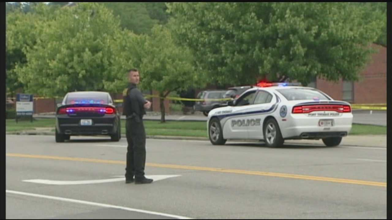 There was a murder-suicide attempt at a northern Kentucky office building Tuesday.