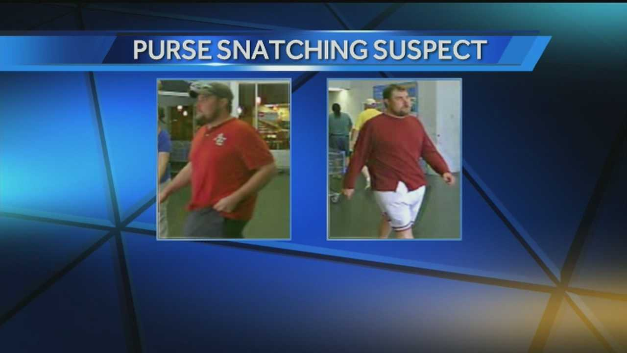 Clarksville police looking for purse snatcher