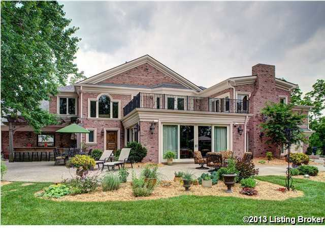 Enjoy this view from the back of the home and to learn more about this renovated masterpiece, please visit Realtor.com.