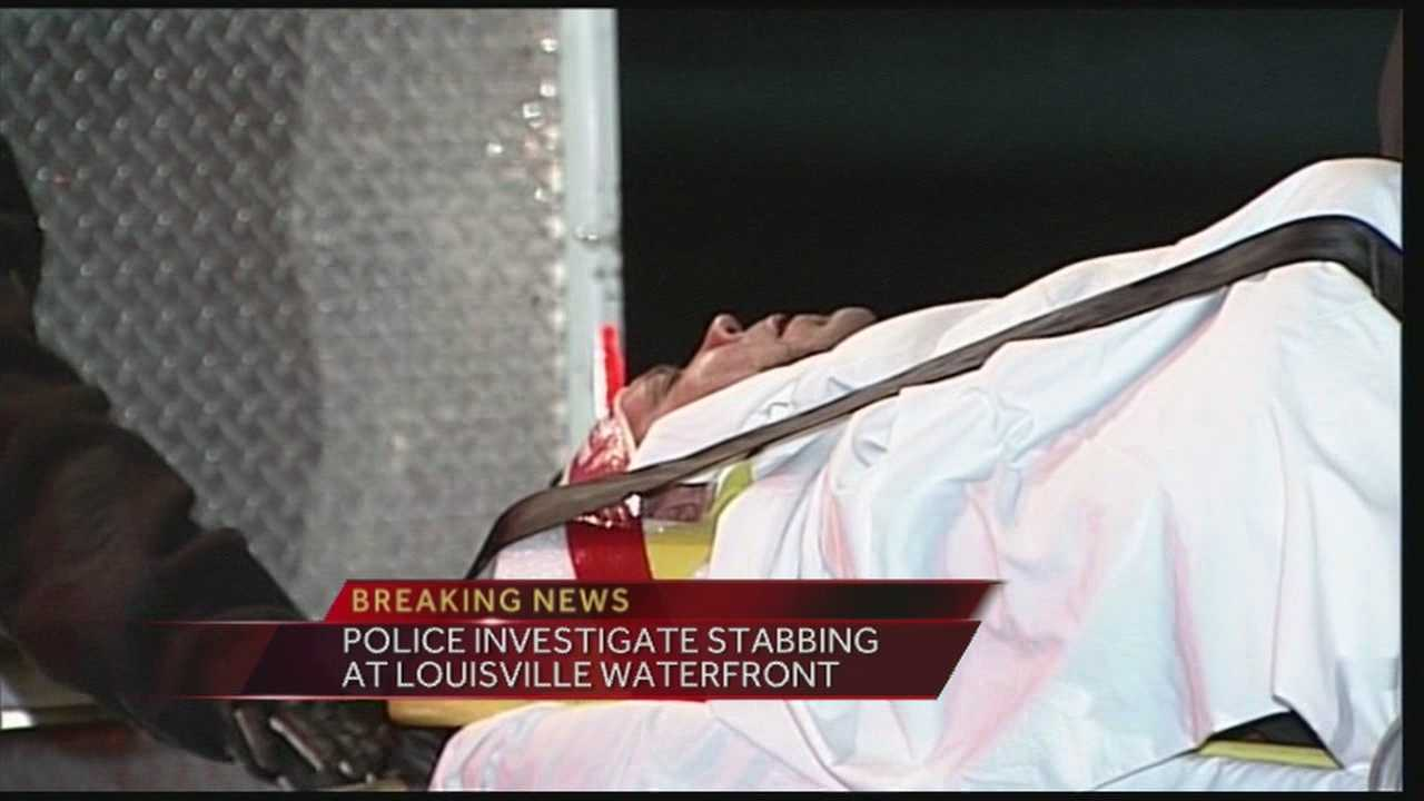 Police investigate stabbing at Louisville waterfront