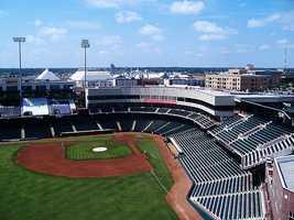 9. Chickasaw Bricktown Ballpark- Oklahoma City, OK