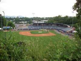 8. McCormick Field- Asheville, NC