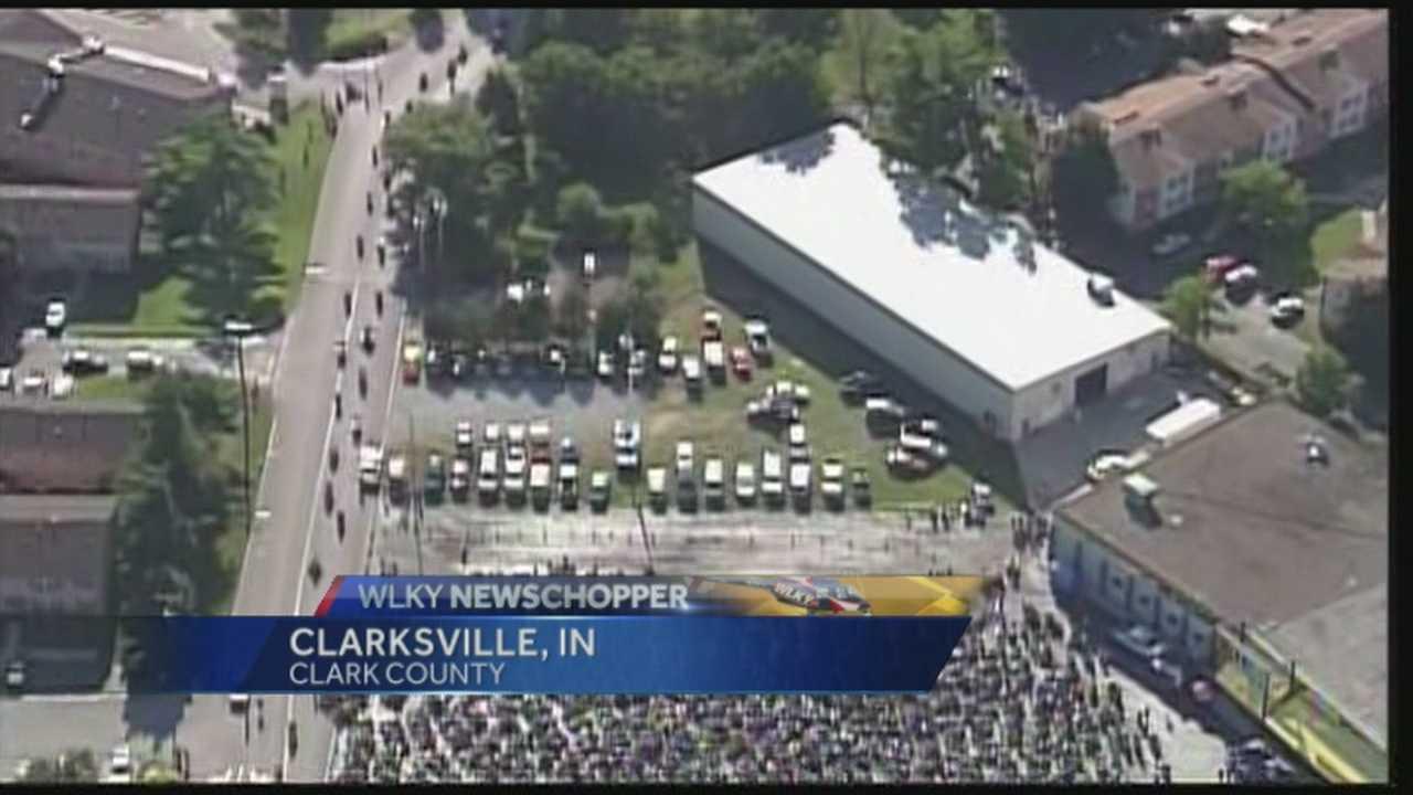 Vietnam Memorial replica returns to Clarksville