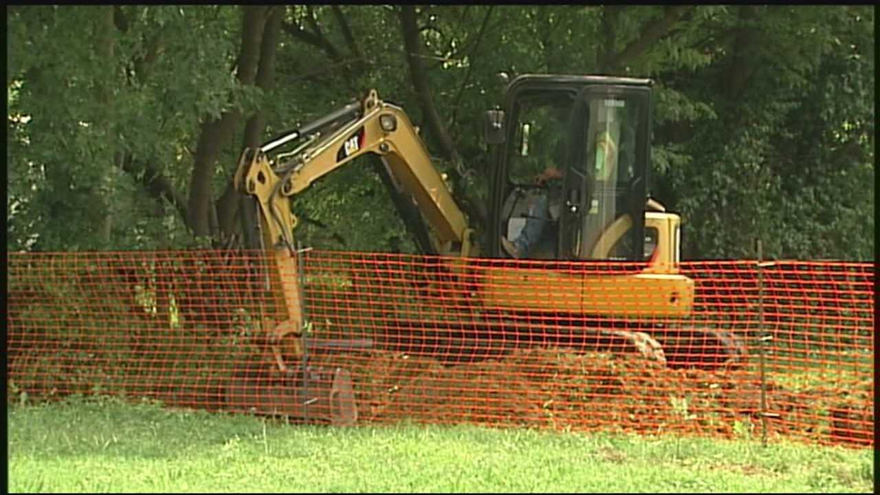 Park Hill excavation