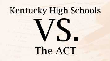 Kentucky high school junior's 2012 ACT scores were released by the Kentucky Department of Education. Find out the average score of your child's school now.