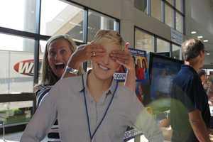 Hey, Ellen... Guess who?? It's meteorologist Susanne Horgan!