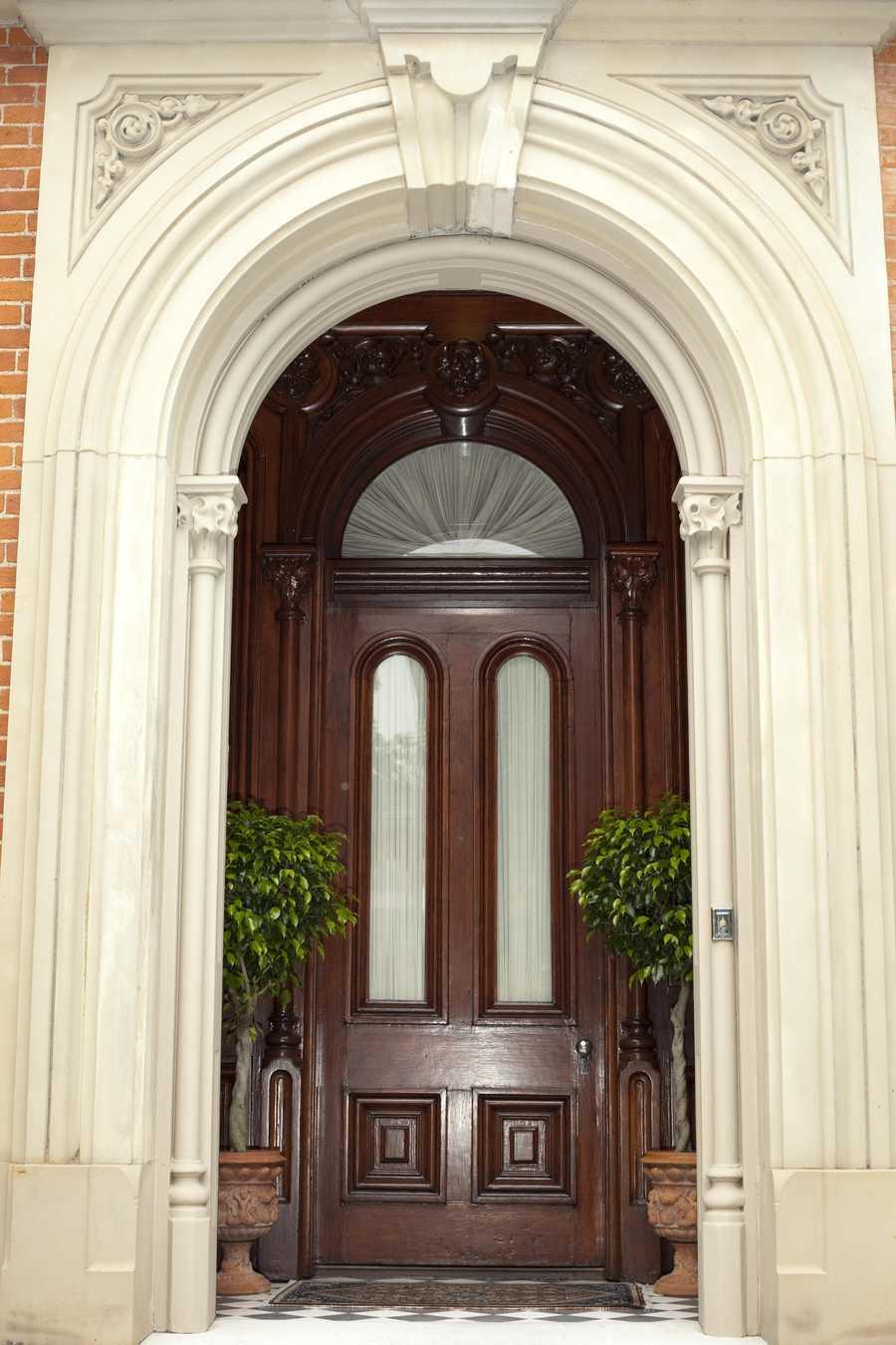 Exterior, Front Entrance