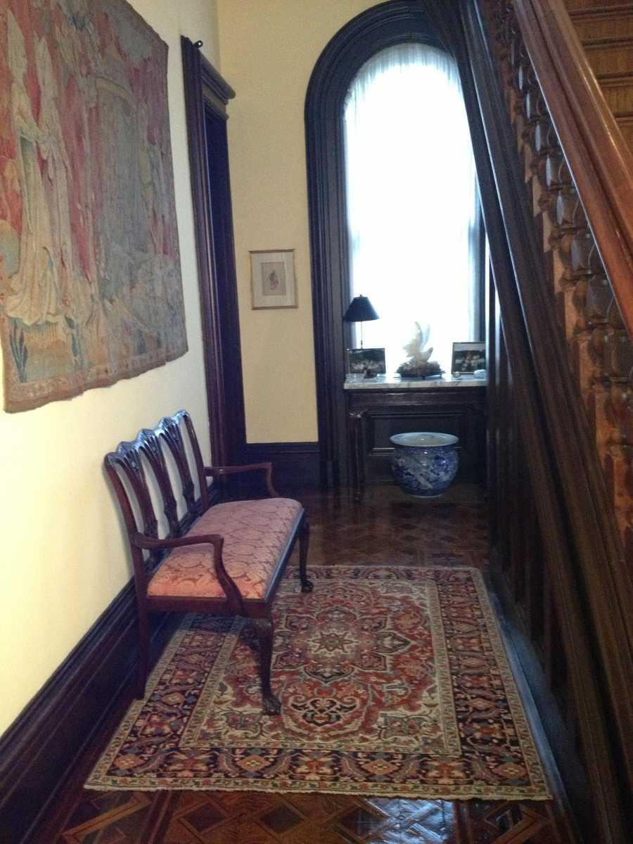 First Floor, Stair Hallway