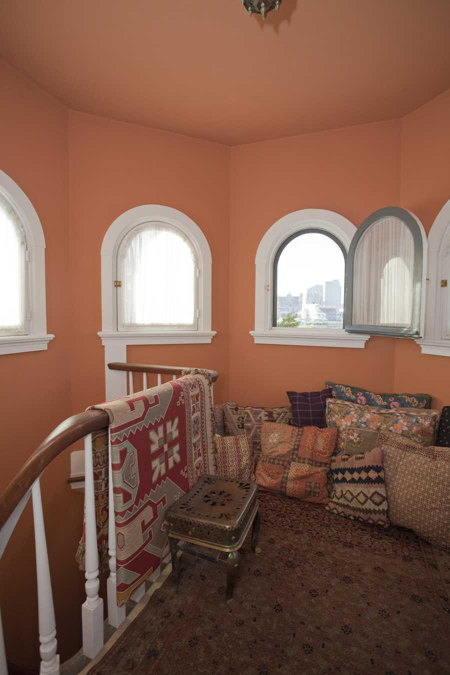 Third Floor, Staircase To Cupola