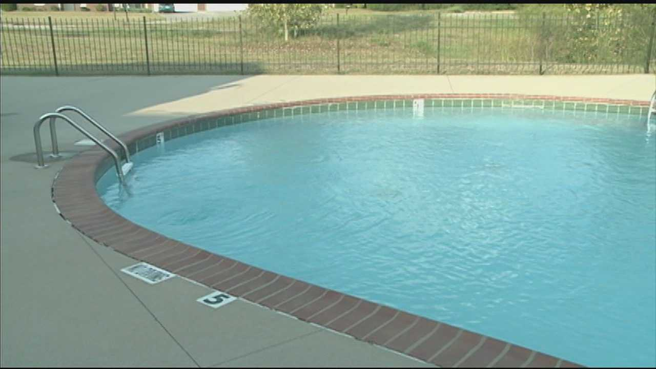 A 5-year-old boy nearly drowned in a pool in Pleasure Ridge Park, but was revived thanks to the heroic efforts of a lifeguard and a neighborhood mom.