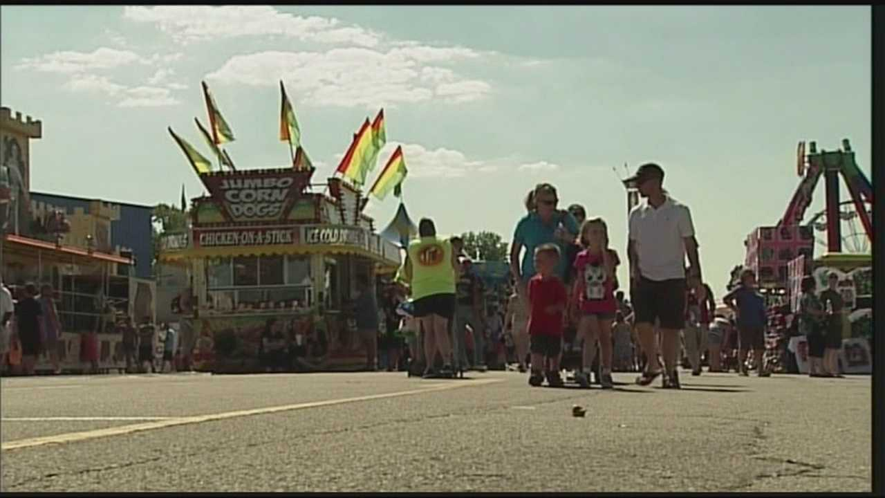 It is the final weekend of the Kentucky State Fair, and, so far, Mother Nature has been good to fairgoers.