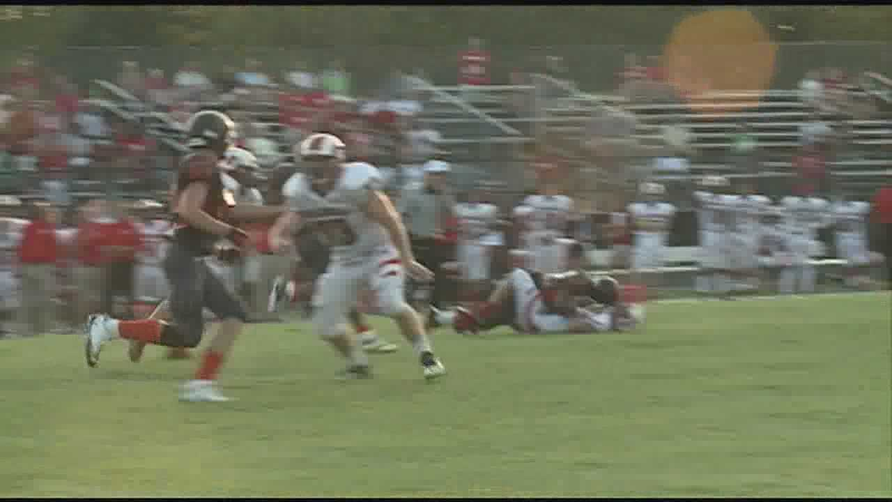 WLKY's Fred Cowgill and Derek Forrest take a look at the best plays from Friday's high school football games.