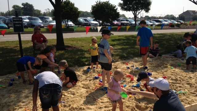 Southeast Christian Church invited the community to FamilyPalooza at three campuses for Labor Day.
