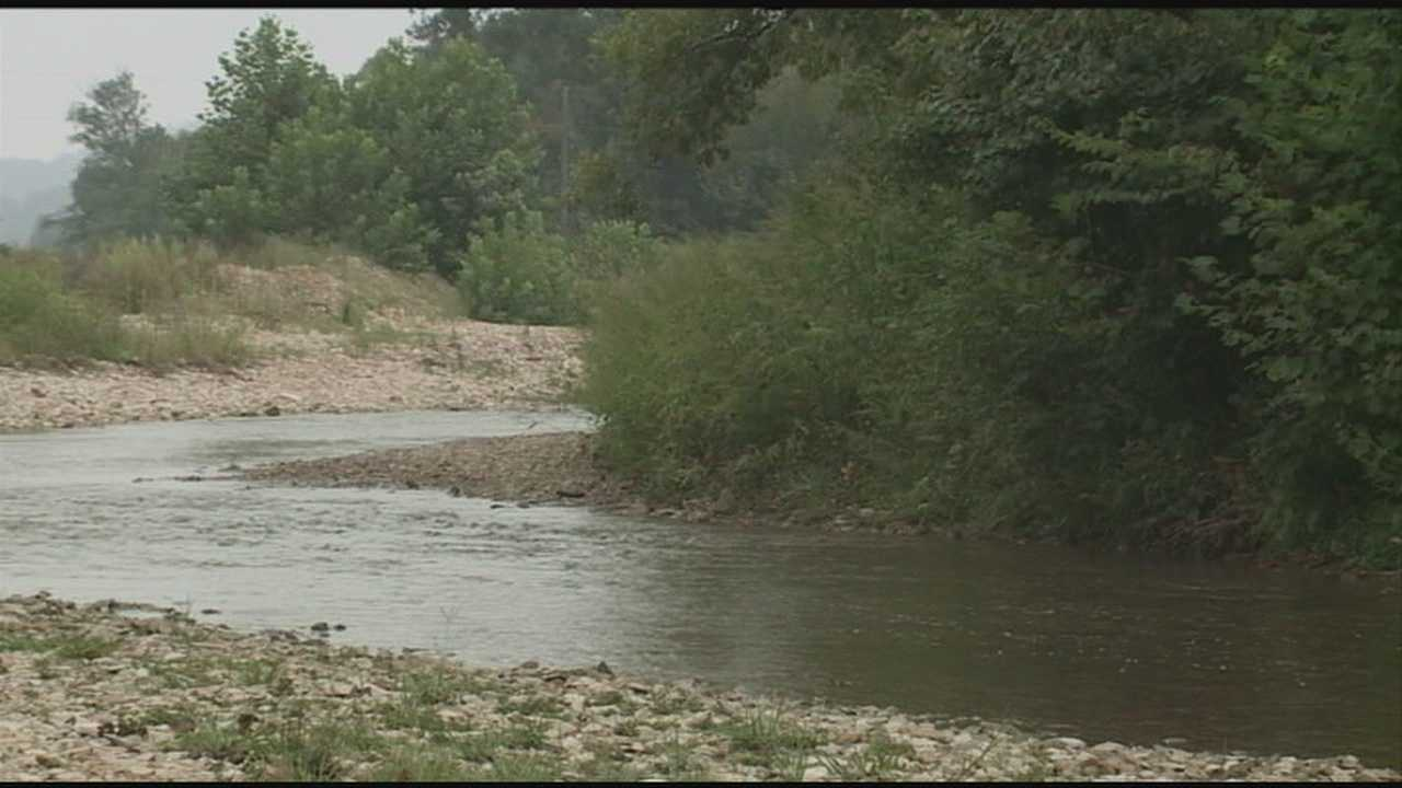 A woman swept away by floodwaters is found dead in LaRue County.