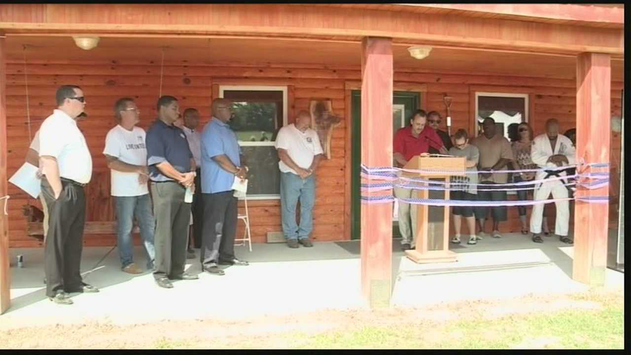 A place for veterans and wounded warriors was dedicated Saturday in Corydon.