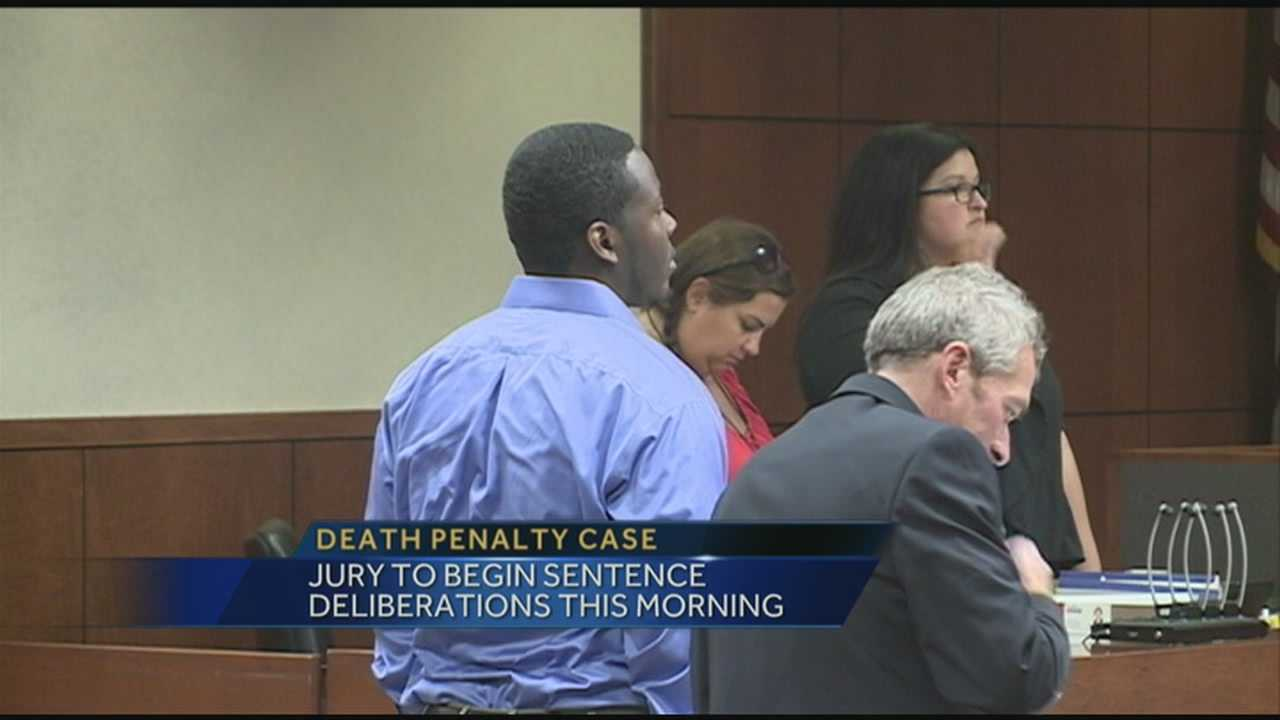 The fate of a man accused of two murders will be decided.