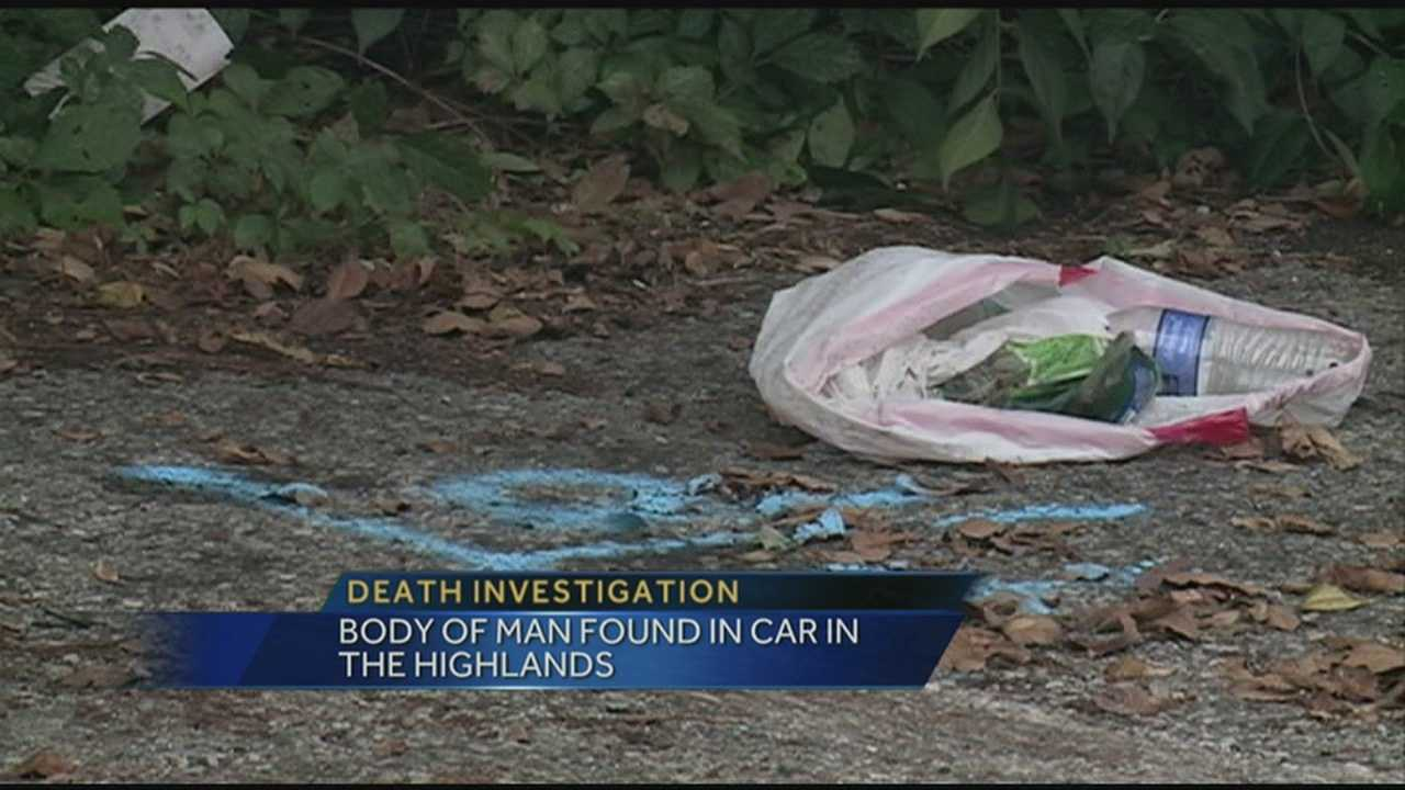 Man's body found in car in Highlands