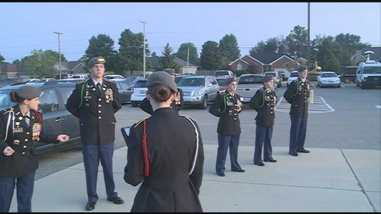 Students at North Bullitt High School honored those lost in the terrorist attacks.