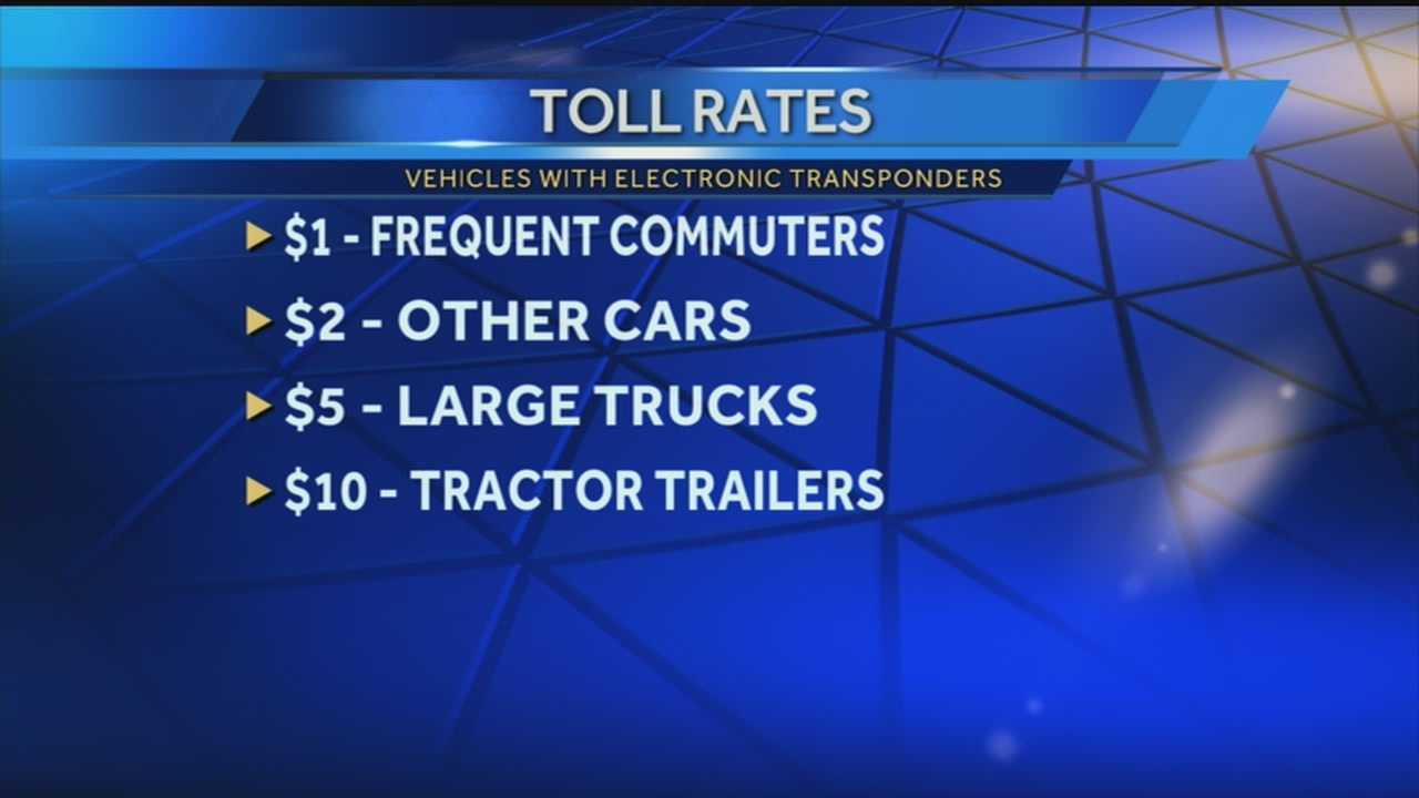 The toll prices have been set for bridges connection Indiana and Louisville.
